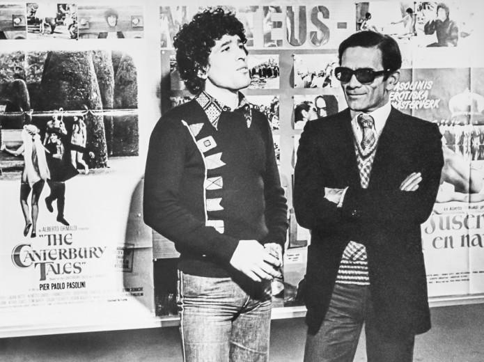 Nino (Giovanni) DAVOLI (1948-      )   Italy and  P.P.PASOLINI