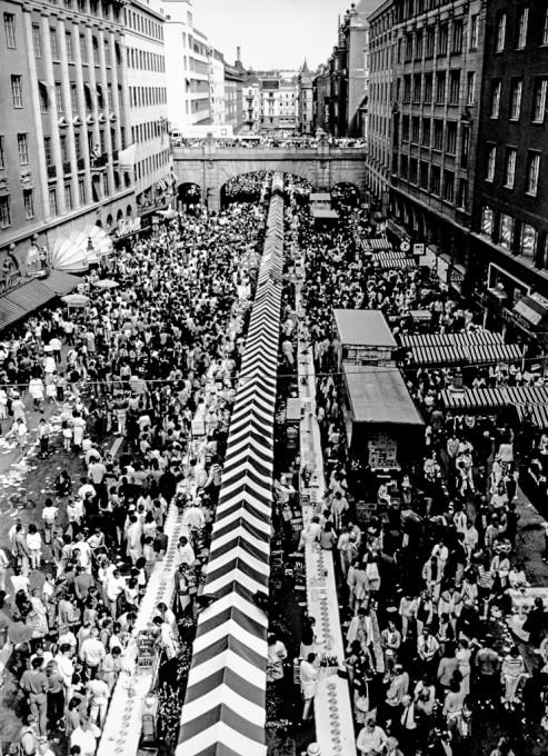 Worlds longest Smörgåsbord Guinness Record attempt